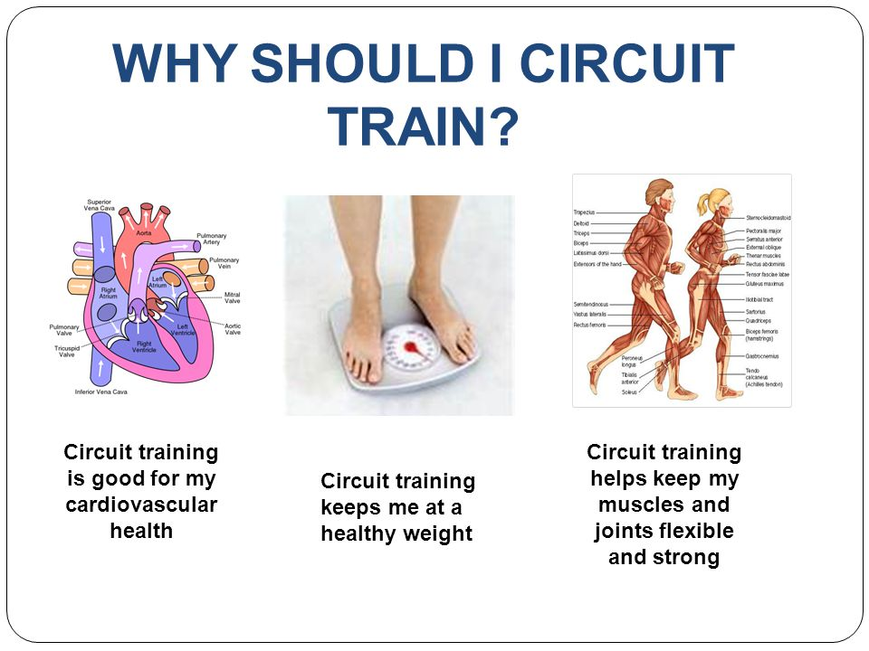 WHY SHOULD I CIRCUIT TRAIN