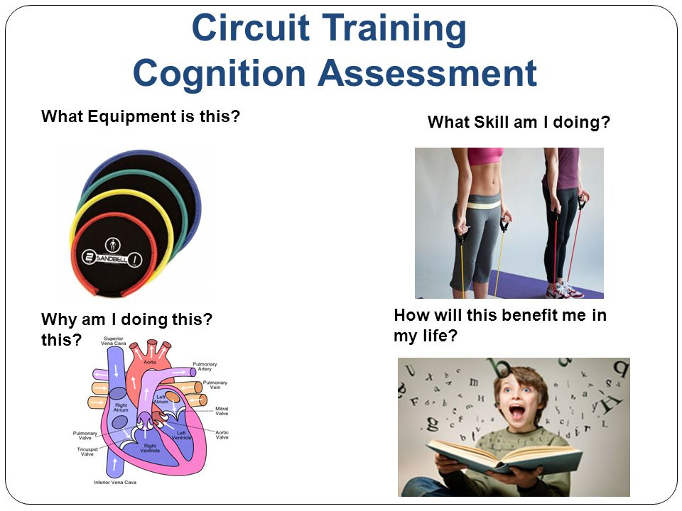 Circuit Training Cognition Assessment