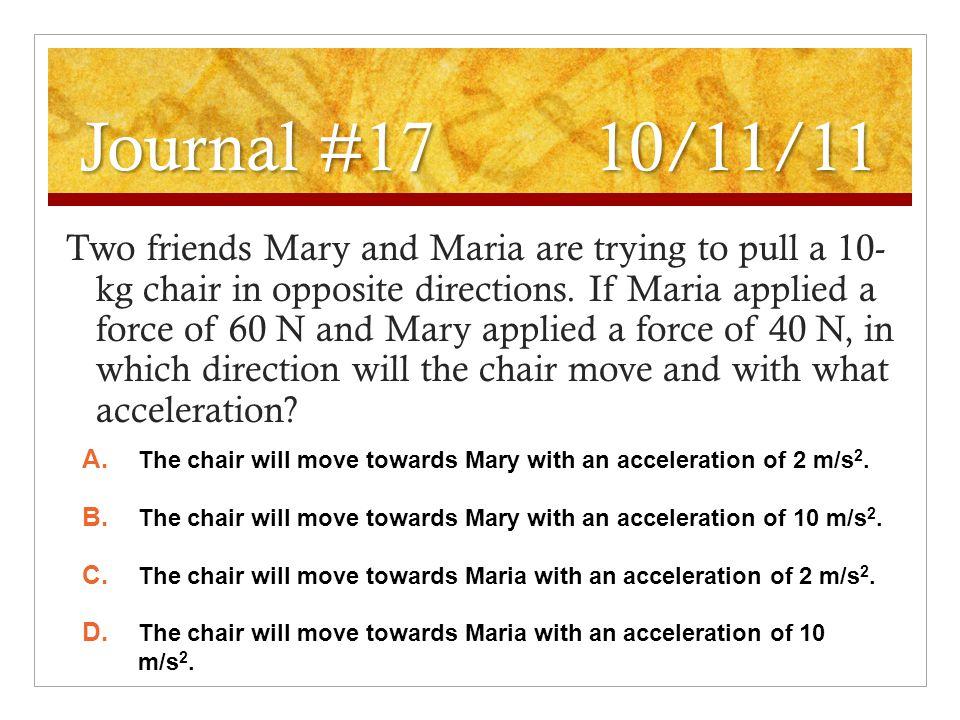 Journal #17 10/11/11