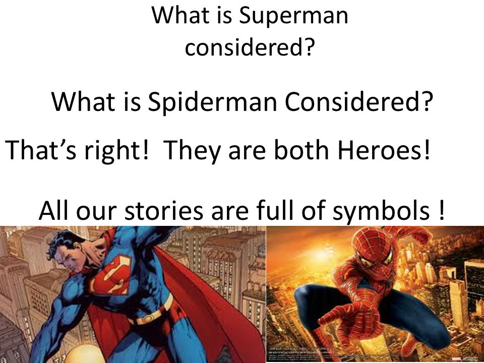 What is Superman considered