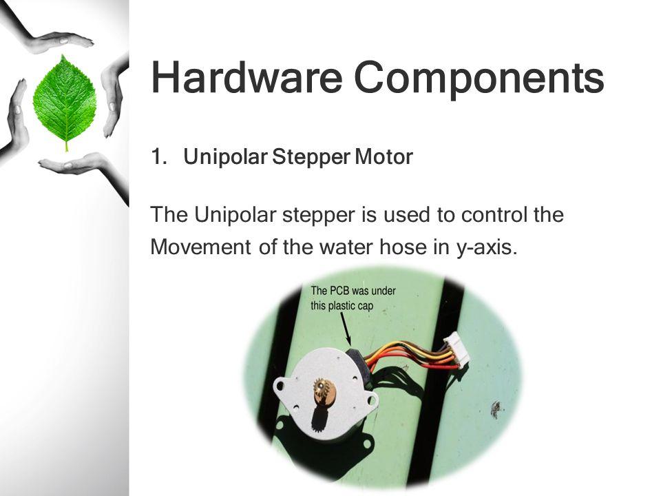 Hardware Components Unipolar Stepper Motor