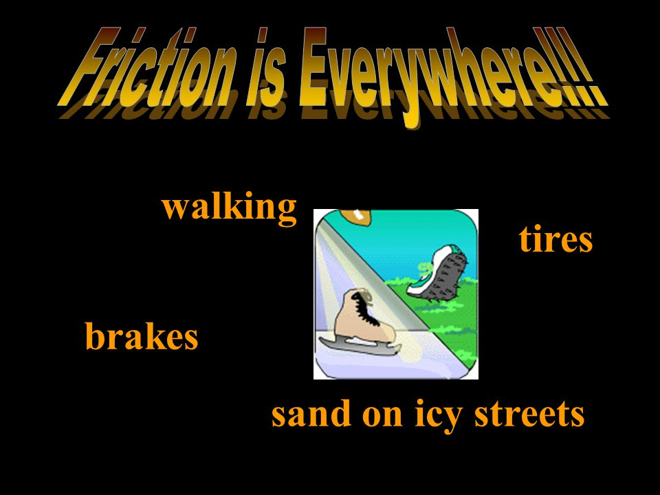 Friction is Everywhere!!!
