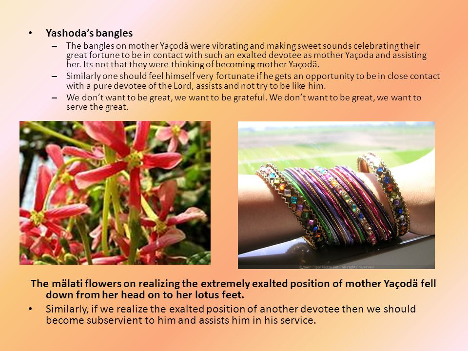 Yashoda's bangles