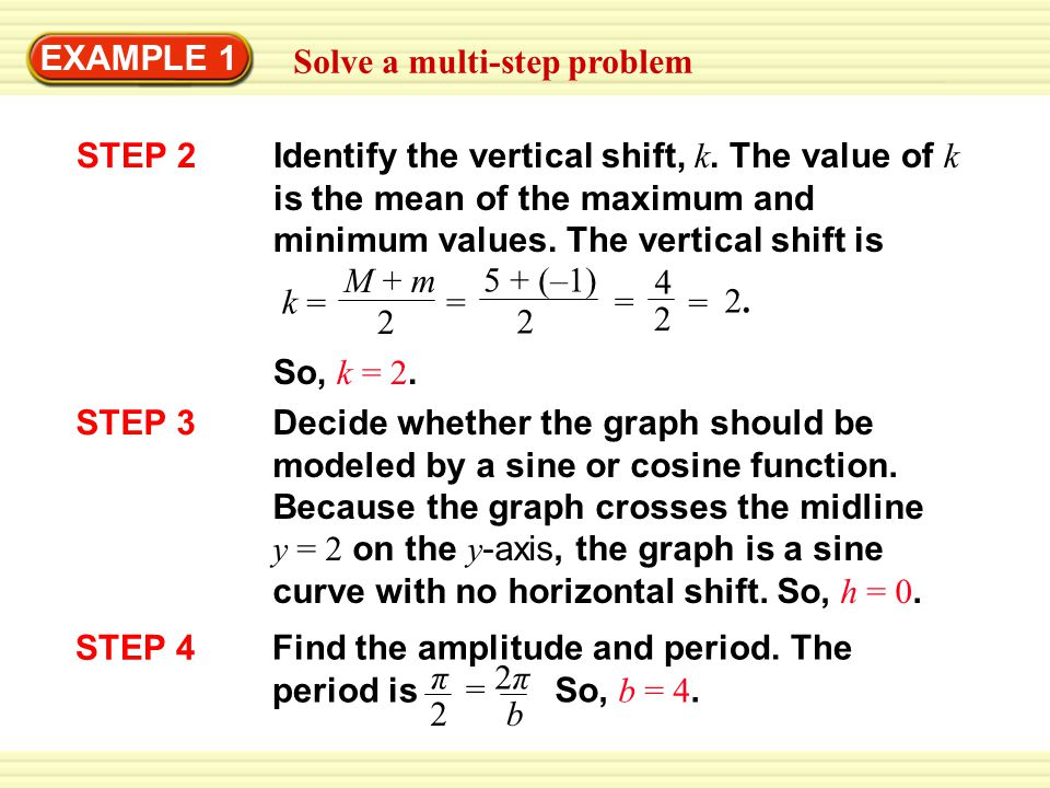 EXAMPLE 1 Solve a multi-step problem. STEP 2.