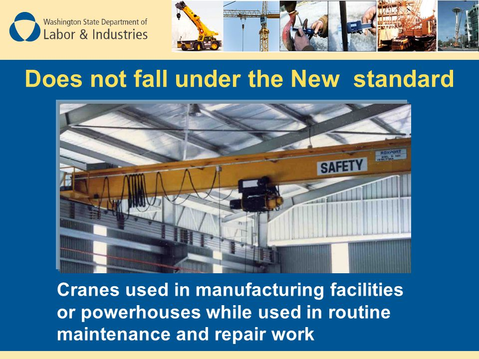 Does not fall under the New standard
