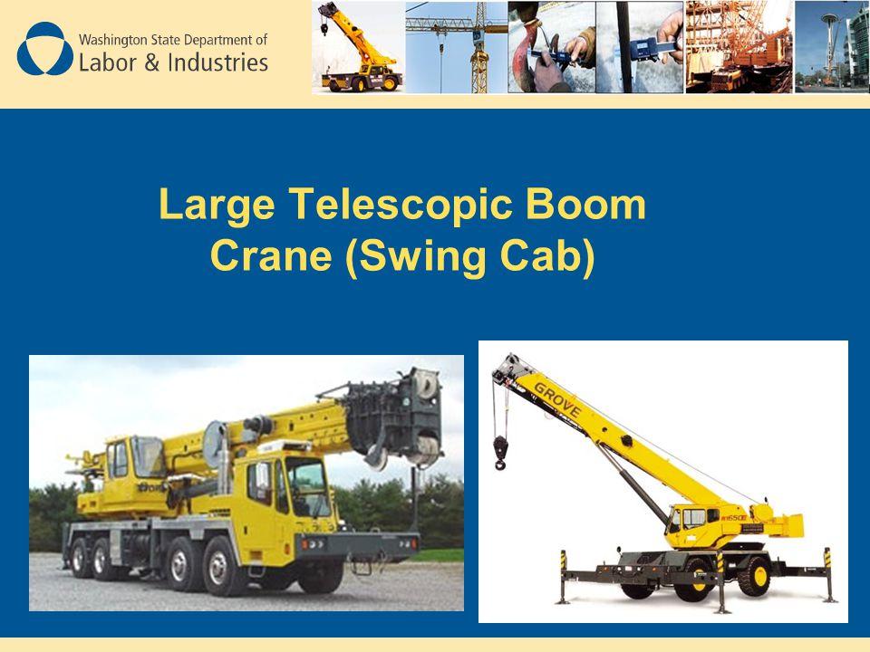 Large Telescopic Boom Crane (Swing Cab)