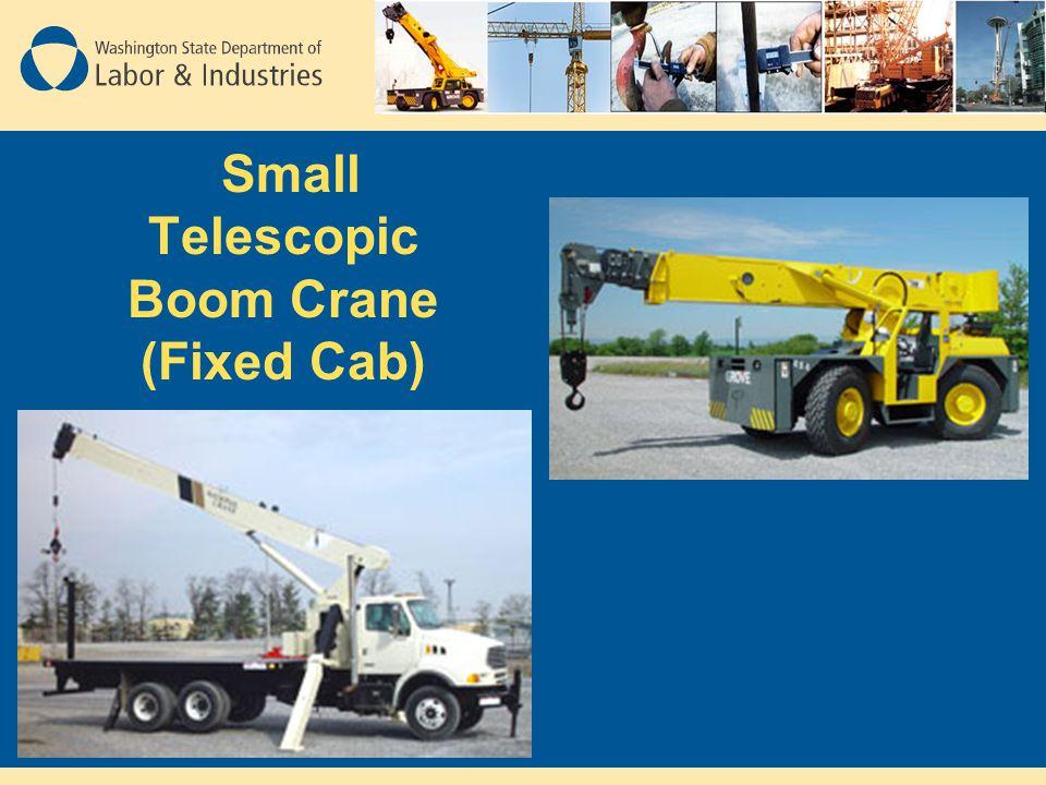 Small Telescopic Boom Crane (Fixed Cab)