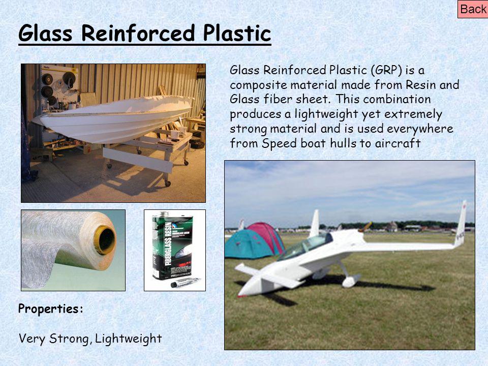 Glass Reinforced Plastic