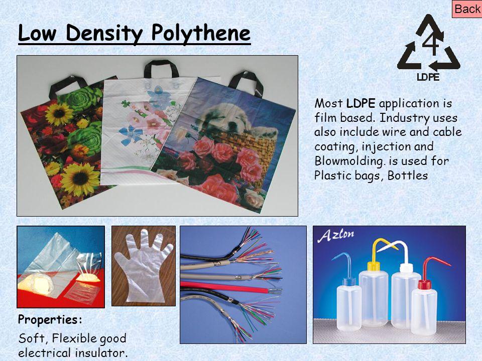 Low Density Polythene Back