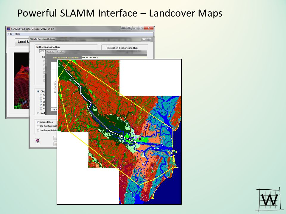 Powerful SLAMM Interface – Landcover Maps