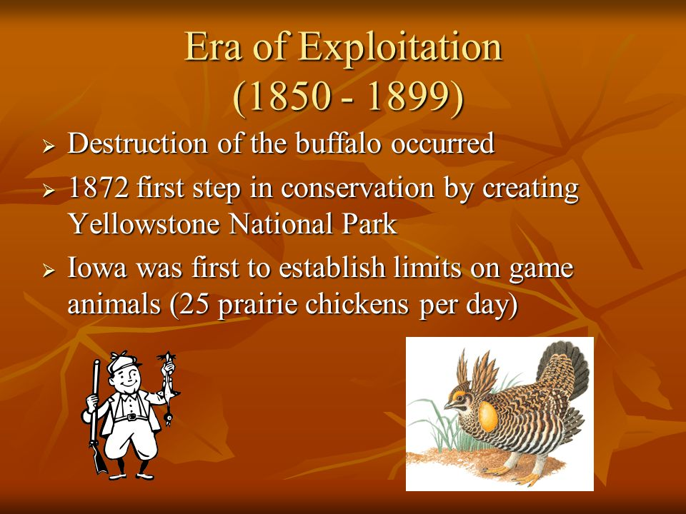 Era of Exploitation (1850 - 1899)