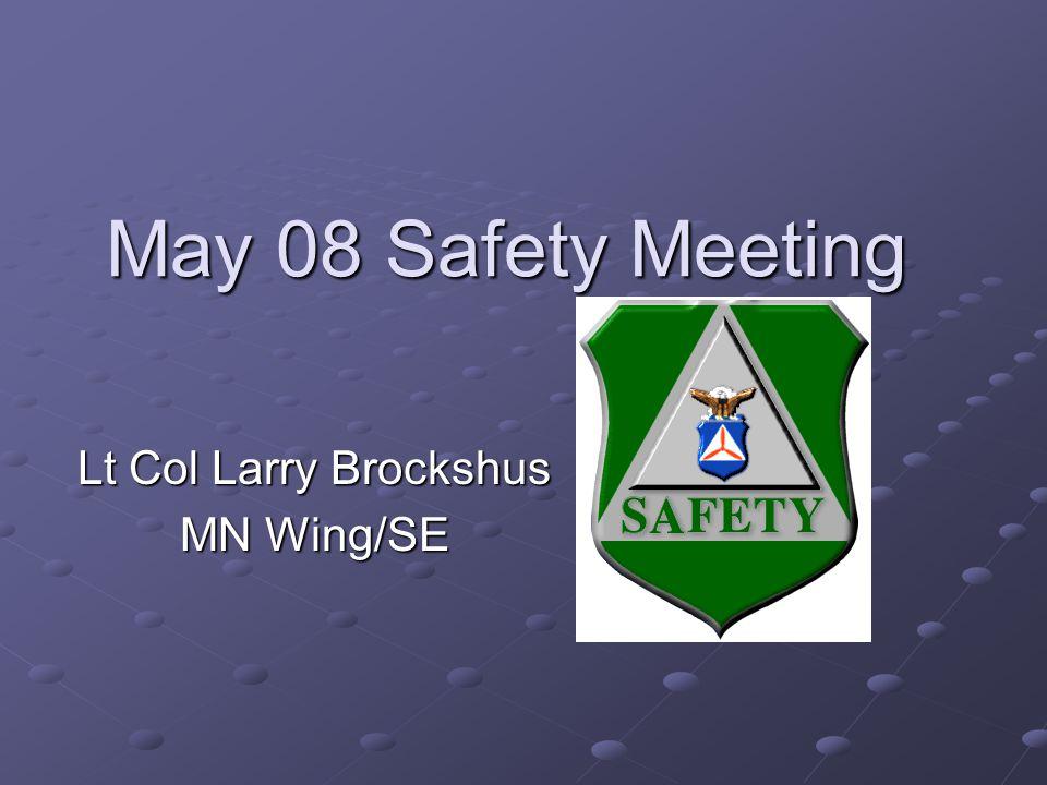 Lt Col Larry Brockshus MN Wing/SE