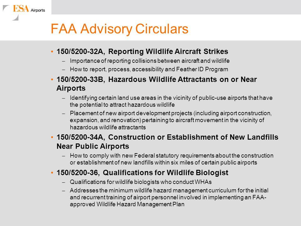 FAA Advisory Circulars