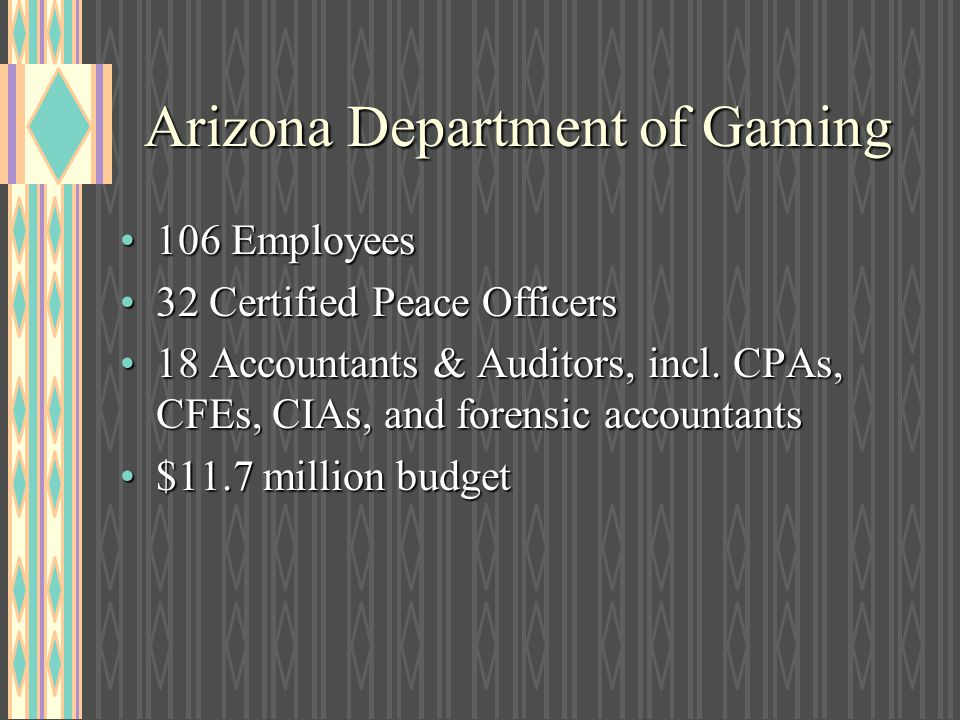 Arizona Department of Gaming
