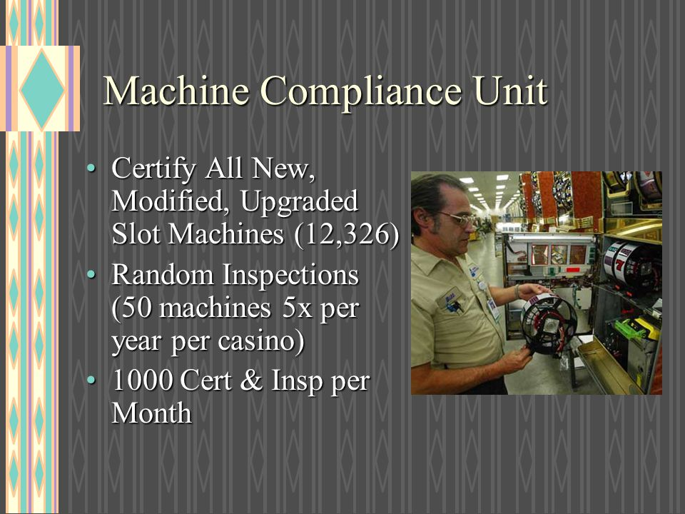 Machine Compliance Unit