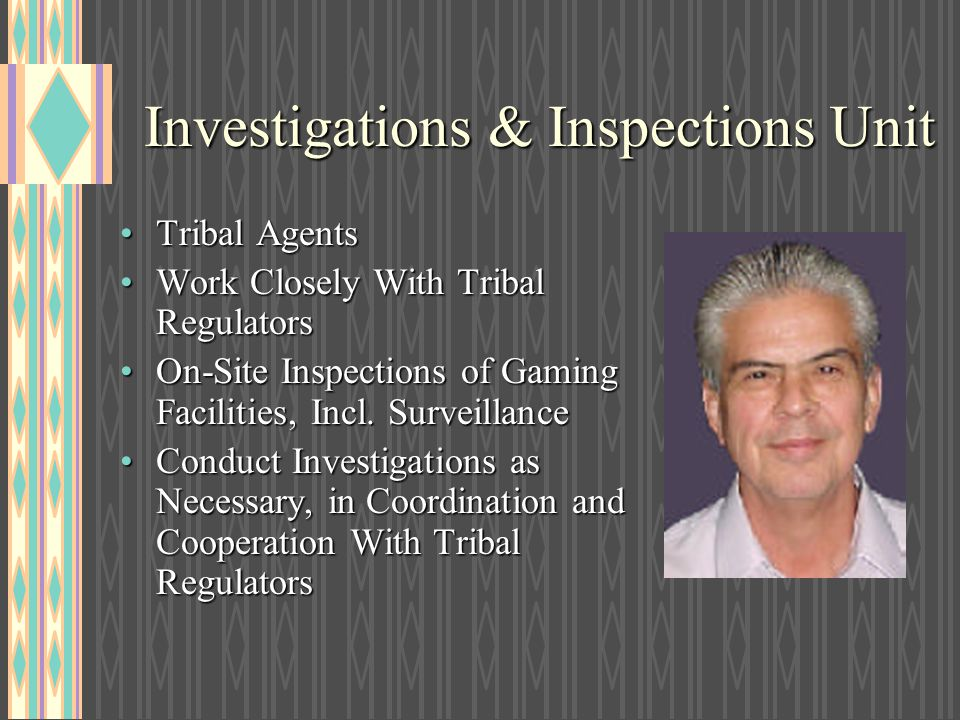 Investigations & Inspections Unit