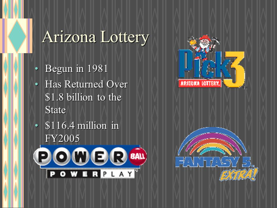 Arizona Lottery Begun in 1981