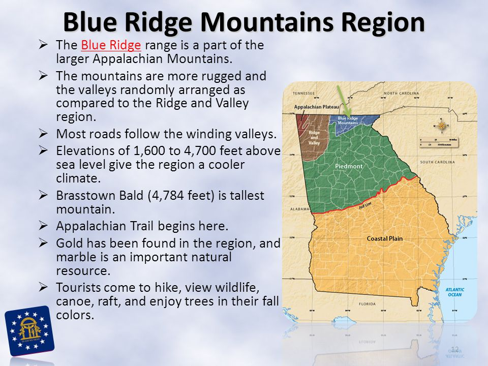 Blue Ridge Mountains Region