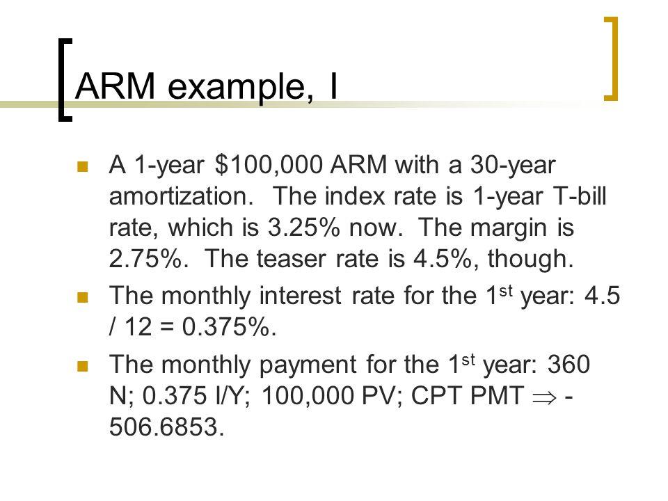 ARM example, I