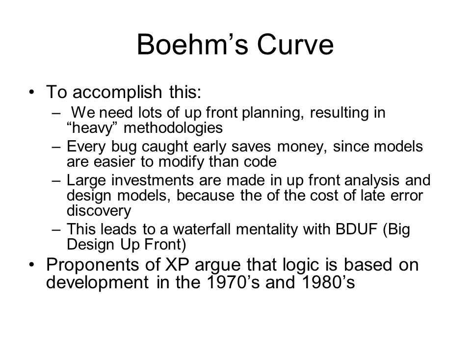 Boehm's Curve To accomplish this: