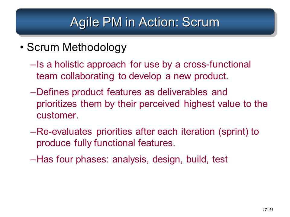 Agile PM in Action: Scrum