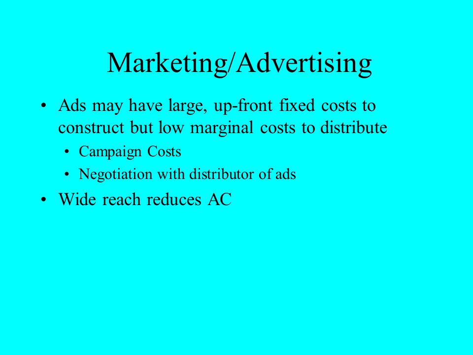 Marketing/Advertising