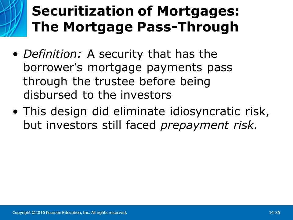 The Impact of Securitization on the Mortgage Market