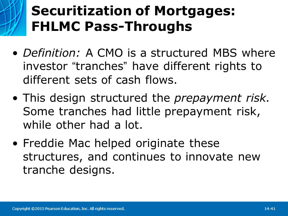 Securitization of Mortgages: Private Pass-Throughs