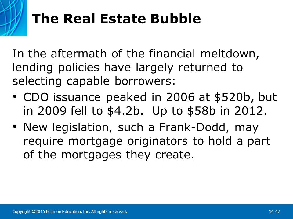 Chapter Summary What Are Mortgages Loans made for the purchase on real property, and usually collateralized by the purchased property.