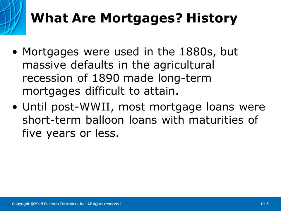 What Are Mortgages History