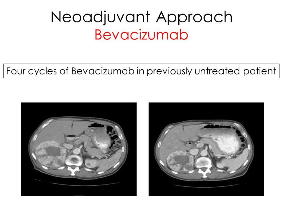 Neoadjuvant Approach Bevacizumab