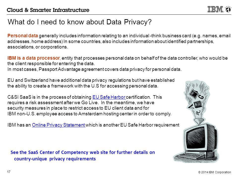What do I need to know about Data Privacy