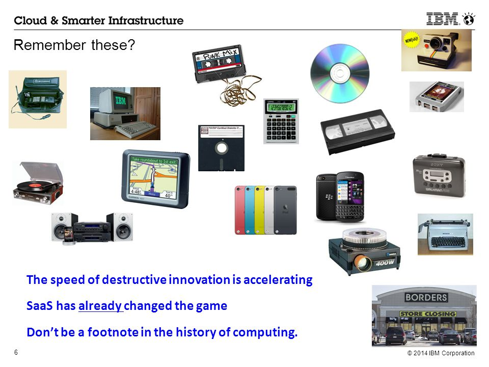 Remember these The speed of destructive innovation is accelerating