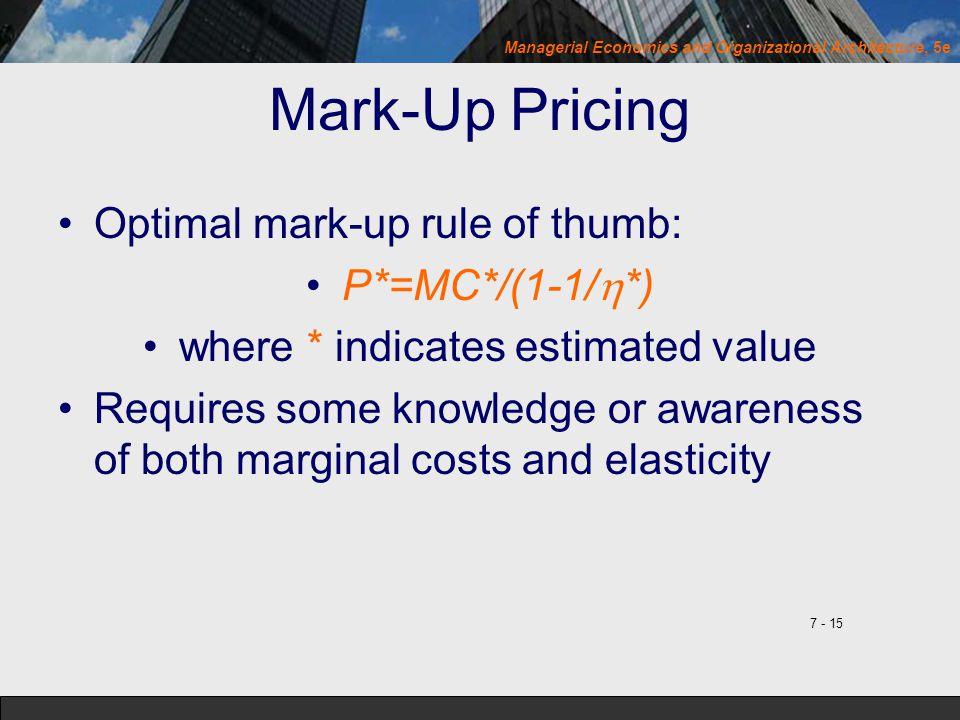 where * indicates estimated value
