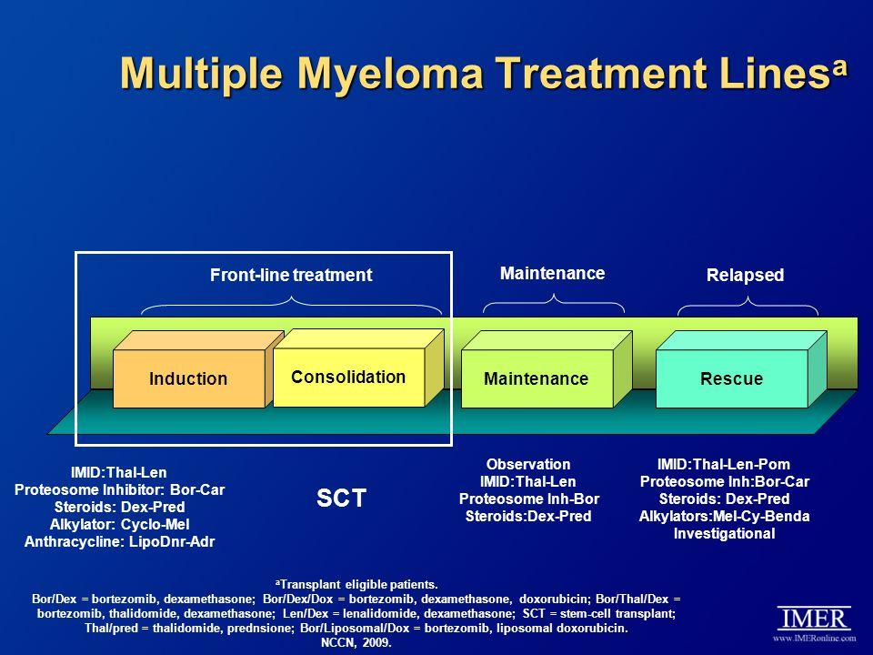 Multiple Myeloma Treatment Linesa