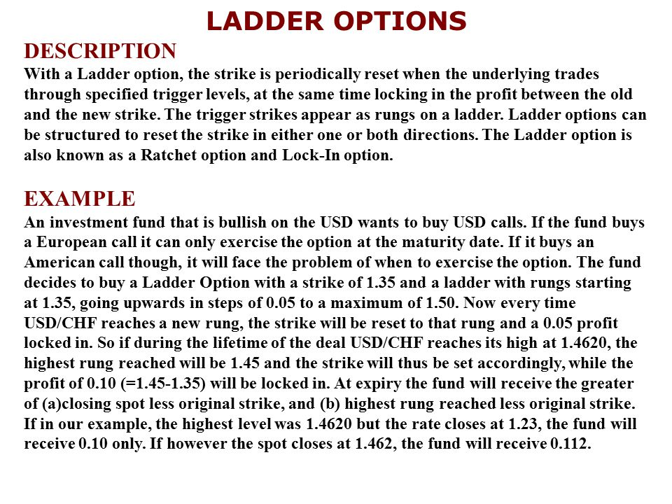 LADDER OPTIONS DESCRIPTION EXAMPLE