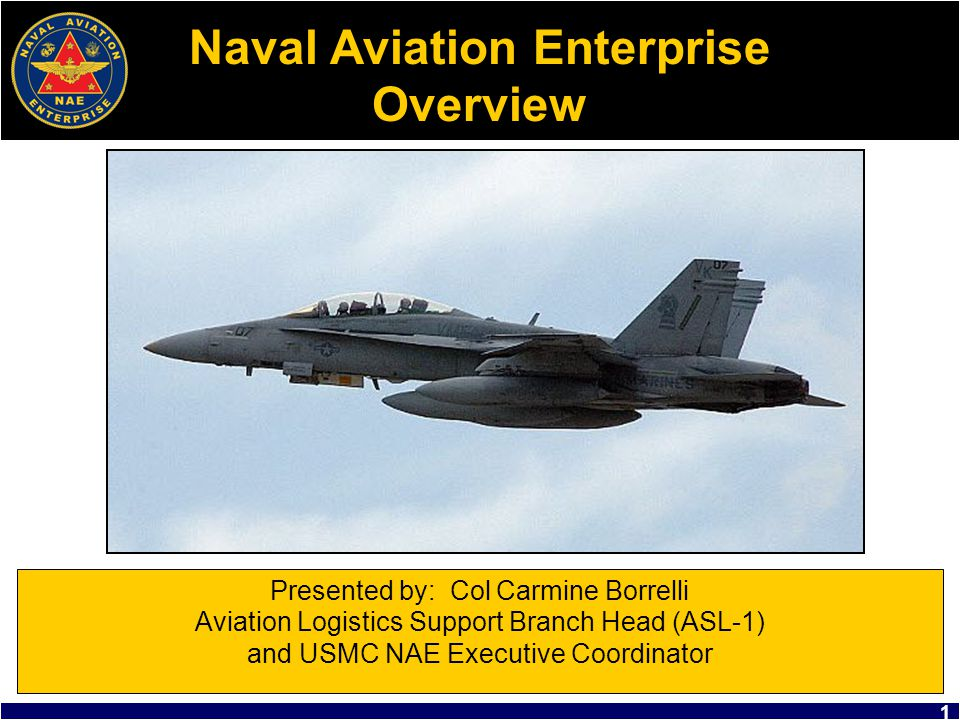 Naval Aviation Enterprise Overview