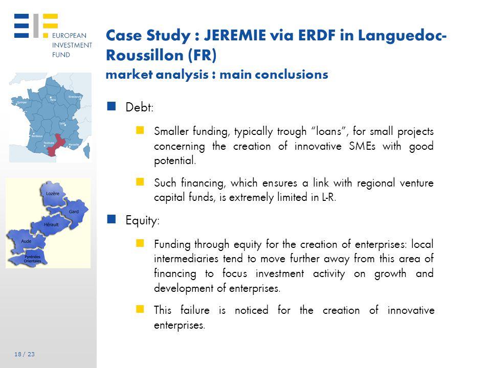 JEREMIE Funding Agreement signed for LR