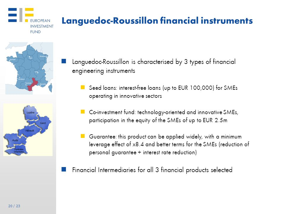 What has the JEREMIE initiative brought to the Languedoc-Roussillon authorities