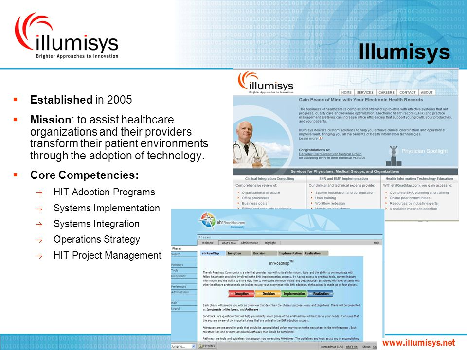 Illumisys Established in 2005
