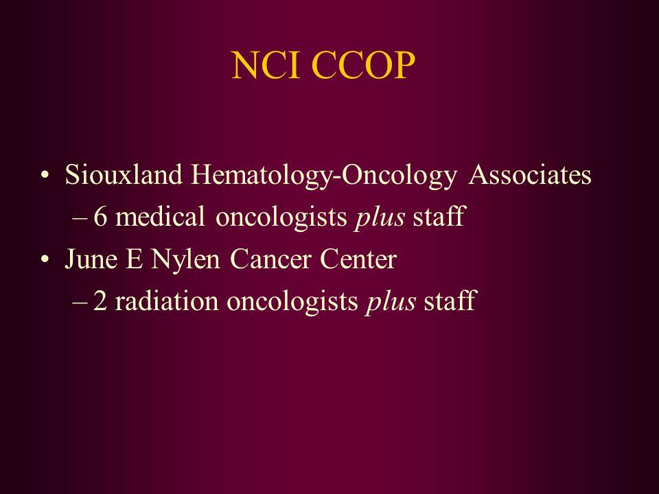 NCI CCOP Siouxland Hematology-Oncology Associates