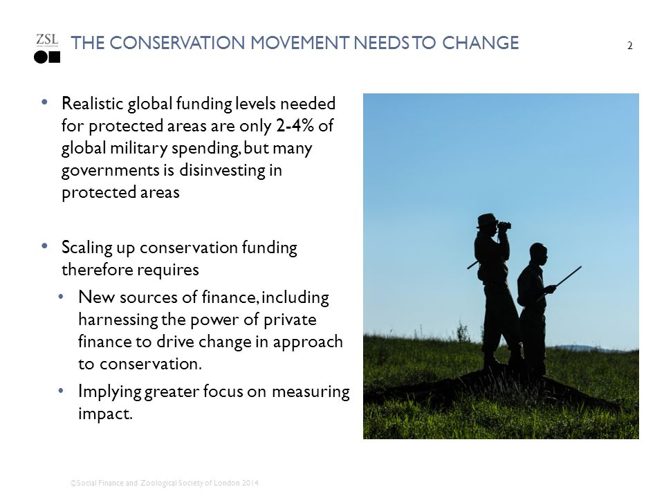 the CONSERVATION movement needs to change
