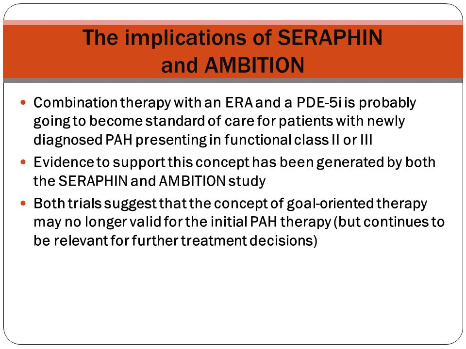 The implications of SERAPHIN and AMBITION