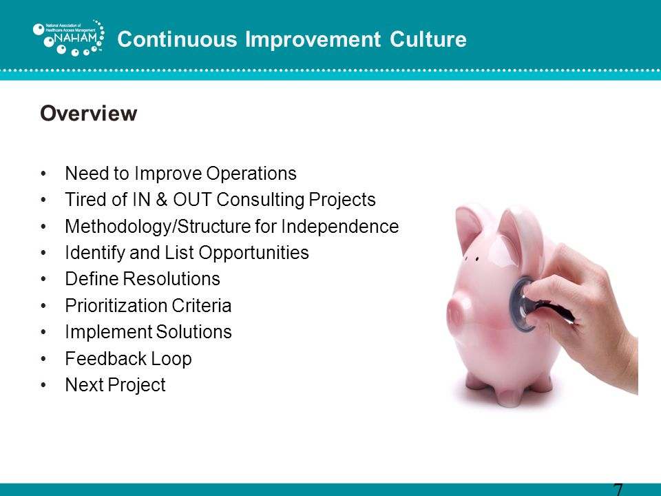 Continuous Improvement Culture