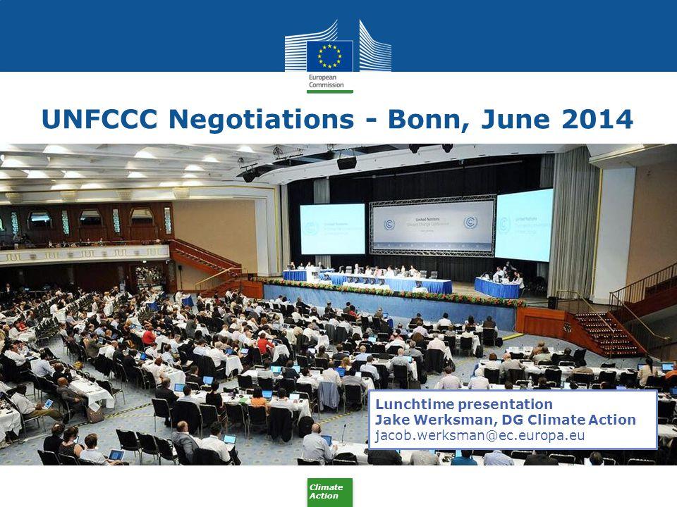 UNFCCC Negotiations - Bonn, June 2014