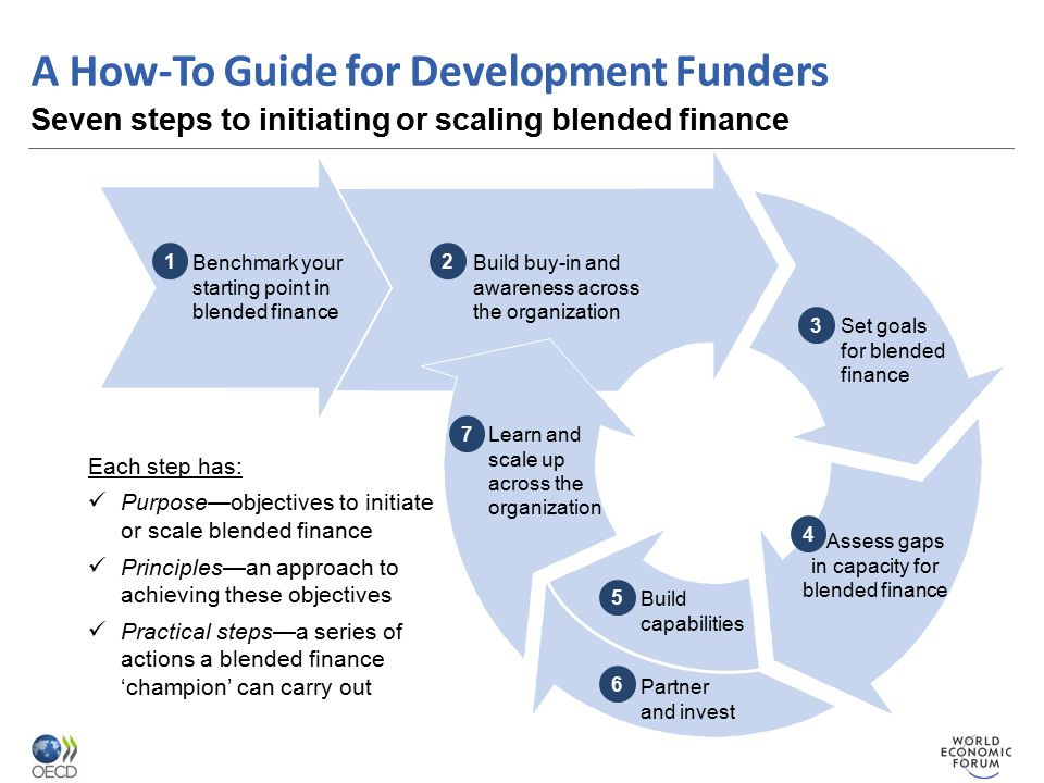 4. Assess gaps in capacity for blended finance