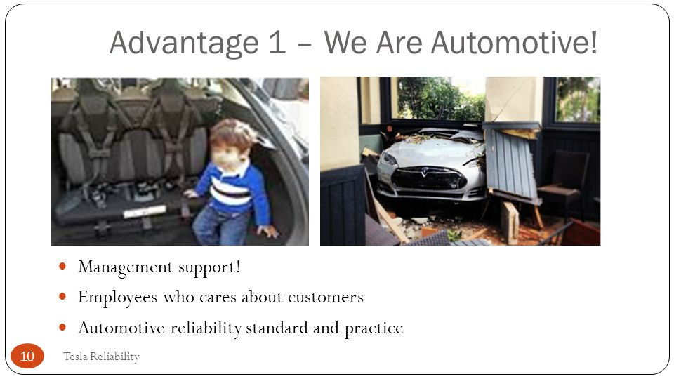 Advantage 1 – We Are Automotive!
