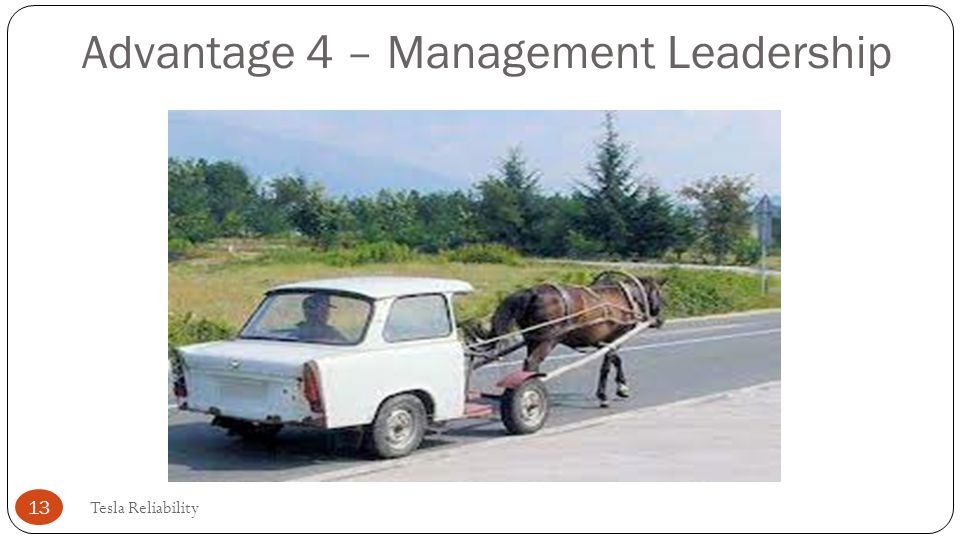 Advantage 4 – Management Leadership