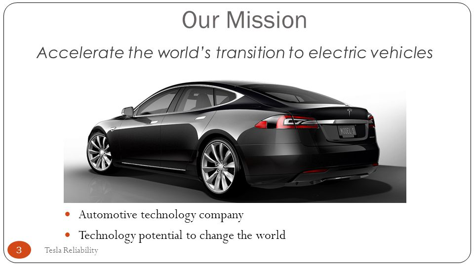 Accelerate the world's transition to electric vehicles