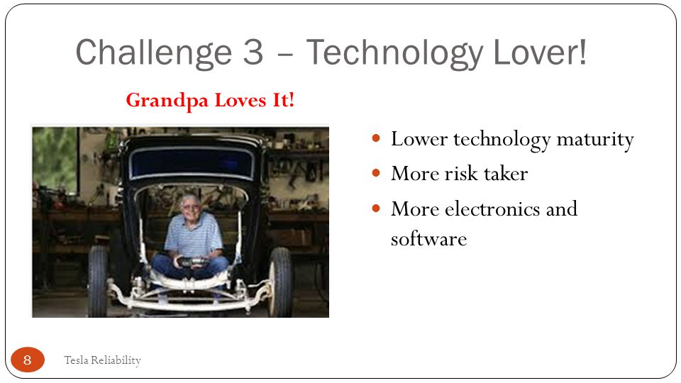 Challenge 3 – Technology Lover!